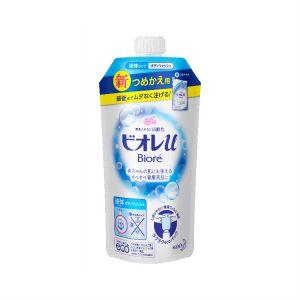 日本本土碧柔Biore滋润保湿沐浴露替换装340ml 皂香味