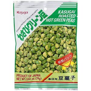 KASUGAI Roasted Wasabi Green Peas 74g