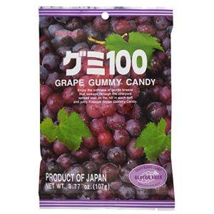 日本KASUGAI春日井 水果QQ软糖 紫葡萄味 107g