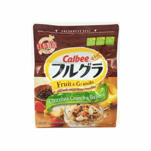 CALBEE FRUGRA CHOCOLATE CRUNCH & BANANA