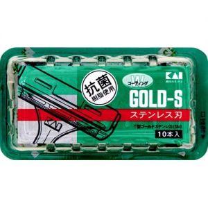 KAI Gold-S Razor Head 10pcs A-123