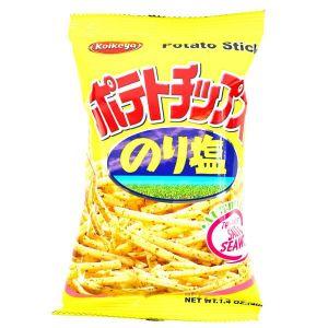 日本KOIKEYA湖池屋 盐味海苔薯条 40G