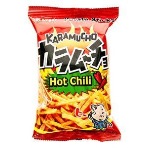 日本KOIKEYA湖池屋 咔辣姆久薯条 辛辣味 40g