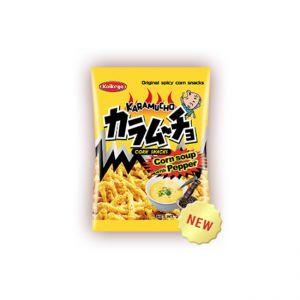 日本KOIKEYA湖池屋阿婆玉米浓汤胡椒薯条
