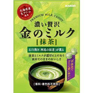 日本KANRO 甘乐北海道香浓牛奶糖抹茶糖 70g