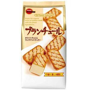 日本BOURBON波路梦 白巧克力夹心饼干 10片 85G