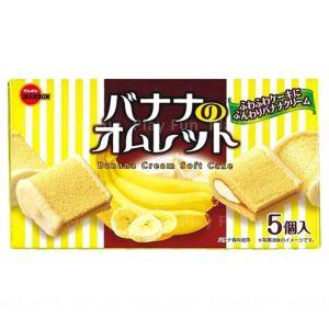 日本BOURBON波路梦 香蕉味蛋糕卷 5个