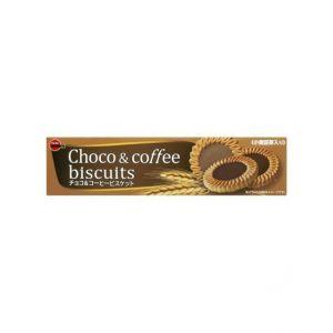 日本BOURBON北日本 巧克力咖啡饼干 24片