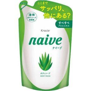 KRACIE NAIVE BODY SOAP ALOE REFILL
