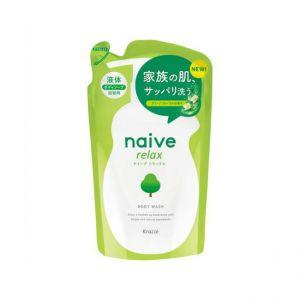 日本KRACIE NAIVE 沐浴乳补充包