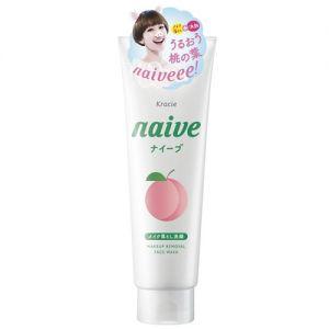 日本KRACIE嘉娜宝 NAIVE 水蜜桃泡沫卸妆洁面乳 200g