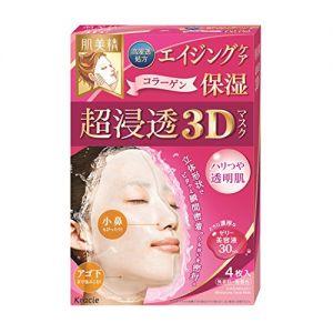 日本嘉娜宝 KRACIE 肌美精 深层抗皱3D 超保湿浸透 4枚