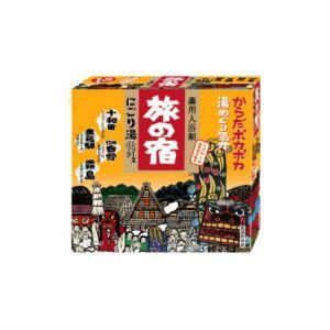 日本KRACIE嘉娜宝 旅之宿系列 药用入浴剂 温泉成分配合 4种类 13包入 325g