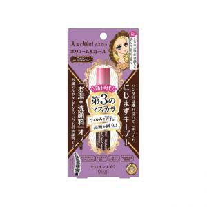 日本ISEHAN伊势半 KISS ME Heroine Make 持久防水浓密睫毛液 易卸防水膜型 啡色