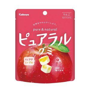 日本KABAYA 卡巴实果苹果味软糖 58G