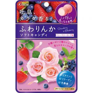 日本KRACIE 蓝莓玫瑰软糖 25G