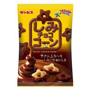 日本GINBIS 星星脆巧克力涂层米果 70G