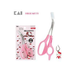 Hello Kitty 修眉剪刀 带眉梳卡 C-157