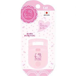 限定版Hello Kitty 日本原装KAI贝印可爱树脂睫毛夹 粉色便携
