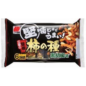 日本SANKO三幸 黑胡椒米脆花生 6袋 192G