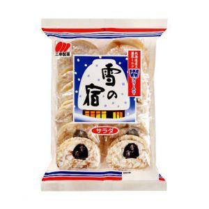 日本Sanko Seika三幸制果 雪之宿米饼(2块x12独立小包) 168g