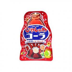 日本SENJAKUAME HONPO扇雀饴 可乐糖果 75g