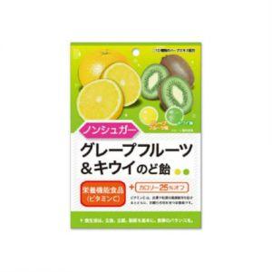 日本SENJAKU扇雀饴 葡萄柚猕猴桃味糖果 43G