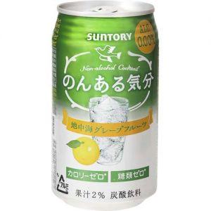 日本SUNTORY 葡萄柚碳酸饮料 350ML