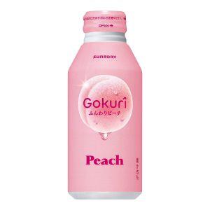 SUNTORY Gokuri Peach Drink 400ml