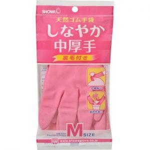 Rubber gloves pink medium A-31