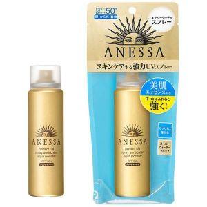 Japan ANESSA 2018 Gold Sunscreen Body Spray Super Sun Protection SPF50
