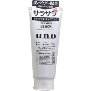 日本SHISEIDO資生堂 Uno 活性炭男士深層清潔洗面奶 130g
