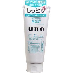 日本UNO 超保水新润洗颜 男士洗面奶 130g