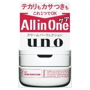 日本SHISEIDO资生堂 UNO男士多效合一完美面霜 90g