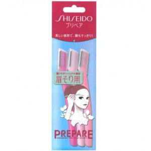 SHISEIDO Facial Razor 3pcs L