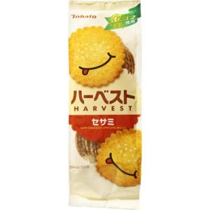 日本TOHATO桃哈多 笑脸薄脆饼干 芝士味 8包入 100g