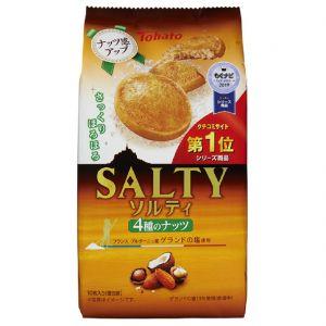 日本TOHATO桃哈多 坚果味曲奇饼干 10枚 85G