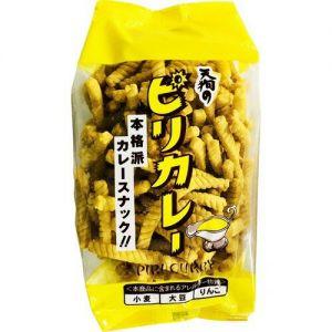 日本TENGU天狗 咖喱味螺旋脆 85G