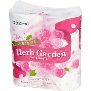 ELLEAIR Soft Toilet Paper Garden Rose 4rolls