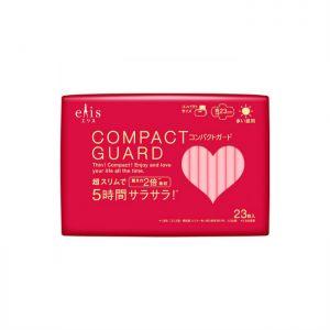 日本ELIS 新款超薄瞬吸型多量日用卫生巾 有护翼 230mm 23枚入