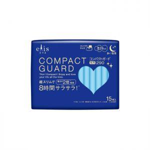 日本ELIS 新款瞬吸超薄型多量夜用卫生巾 有护翼 290mm 15枚入