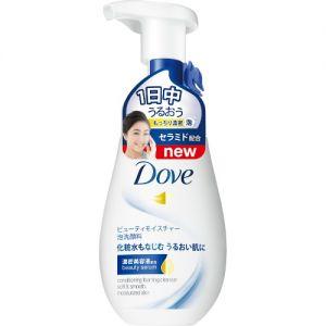 DOVE Moisture Creamy Bubble Face Wash Pump 160ml Japan