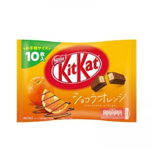 日本NESTLE KITKAT橙子口味迷你威化夹心饼干 12片