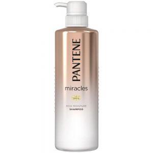 日本Pantene潘婷氨基酸染烫受损修护防毛躁洗发水500ml