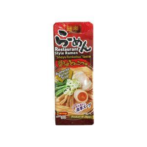 日本HIKARI MENRAKU面乐酱油豚骨拉面 2人份