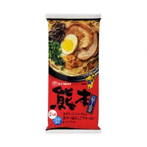日本MARUTAI 熊本黑麻油豚骨风味拉面 2人份 186g