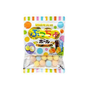 日本UHA 缤纷综合糖果球 60G