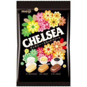 日本MEIJI明治CHELSEA巧喜浓厚3种口味糖 93G