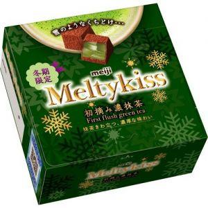 日本MEIJI明治 冬季限定抹茶味巧克力 56G