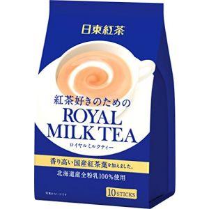 日本NITTO日东红茶 皇家奶茶醇香奶茶 14g×10条